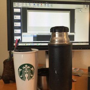 Coffee. Because online training.