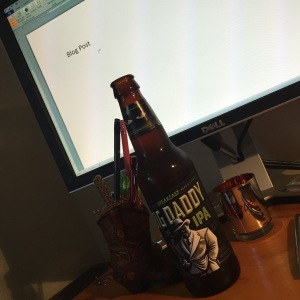 Beer and a blog.