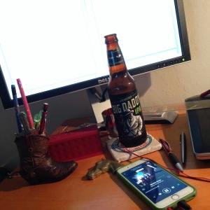 Blog, beer, and building out my Spotify playlist